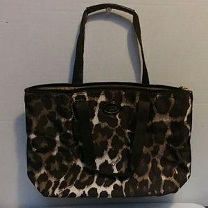 Authentic Coach Cheetah Mini Tote Bag